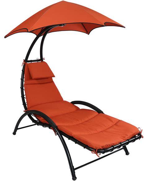 sunnydaze decor sunnydaze chaise lounge chair with canopy