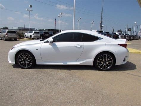 lexus coupe white 2016 lexus rc 350 coupe rwd with 3 516 miles miles white 2