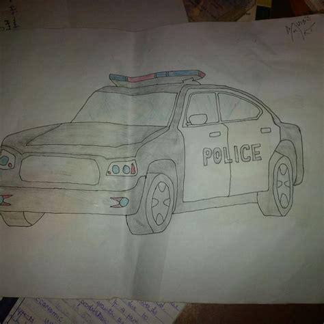 ways  draw  police car wikihow