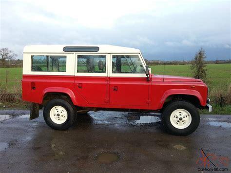 original land rover 1984 land rover 110 county station wagon very original