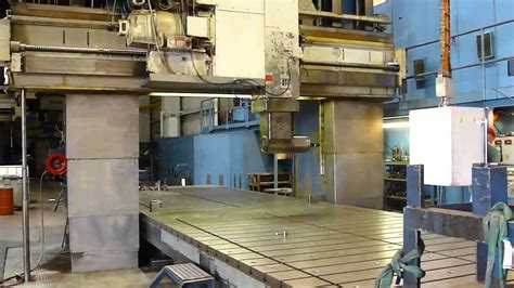 ingersoll double column  face cnc planer mill