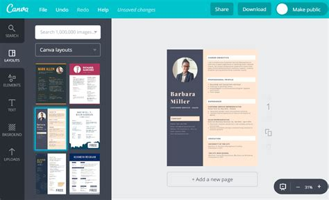 Cv Maker For Freshers by Resume Maker For Freshers Free By Canva