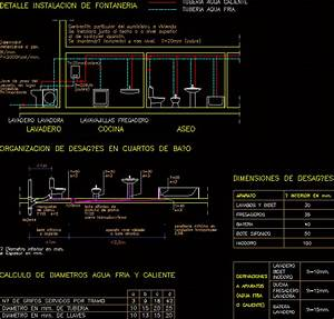 Kitchen Plumbing DWG Detail for AutoCAD • Designs CAD