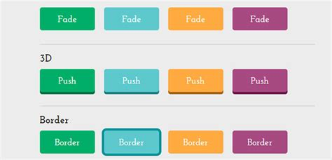 cool css button styles effects web graphic design bashooka