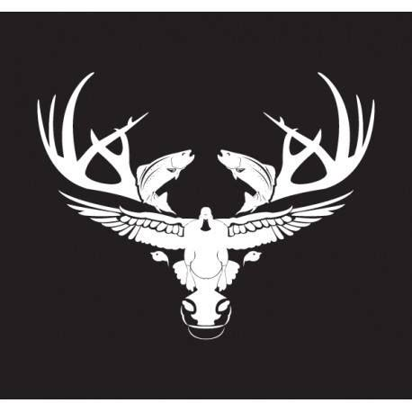 Sportsman Boats Decal by Logo Decals Hats Duck Calls Louisiana Sportsman