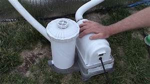 Above Ground Pool Filter Pump Placement