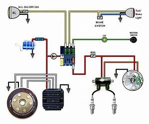 Dirt Bike Wiring Diagram Basic