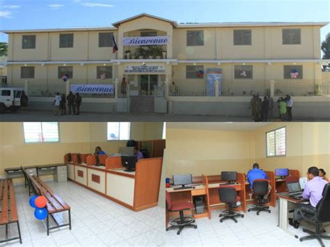 bureau impots haïti reconstruction modernisation et décentralisation