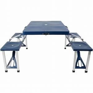 Table De Camping Gifi : table pique nique pliante meuble de camping equipement ~ Melissatoandfro.com Idées de Décoration