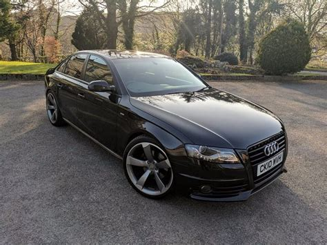 2010 Audi A4 by 2010 Audi A4 S Line 2 0 Tdi Black Edition Styling In