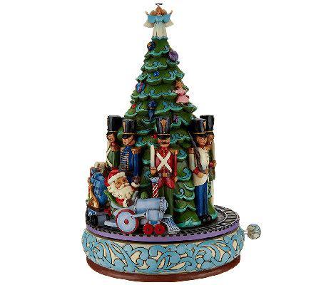 jim shore heartwood creek musical santa with christmas