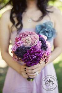 Bouquet/Flower - Purple_Wedding_Flowers #793410 - Weddbook