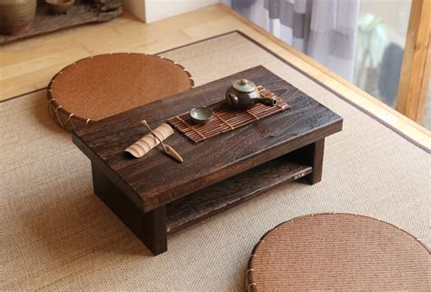 wooden table ls for living room oriental antique furniture design japanese floor tea table