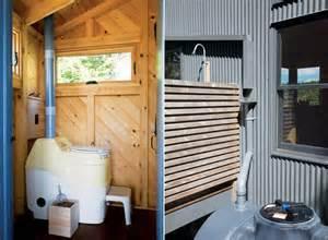 tiny off grid cabin in maine is completely self sustaining maine coast retreat inhabitat