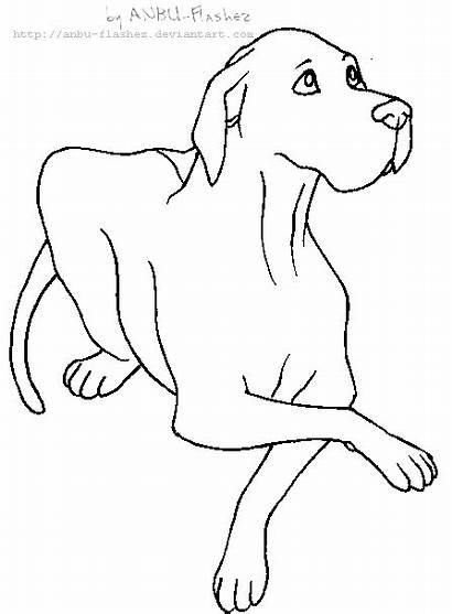 Dane Lineart Drawing Deviantart Coloring Pages Drawings