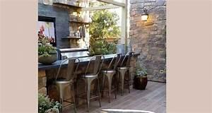 15 idees pour amenager une cuisine d39ete a l39exterieur With decoration exterieur pour jardin 15 deco maison cuisine