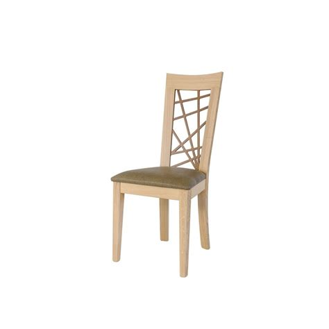 chaise dossier haut chaise h v a dossier haut 45x52x105cm helena pier import