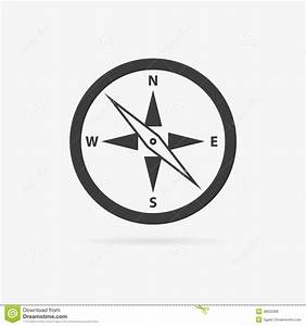 8 Simple Compass Icon Images - Compass Rose Clip Art ...