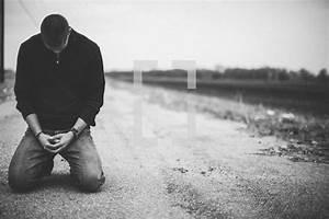 Man Praying On Knees | www.imgkid.com - The Image Kid Has It!