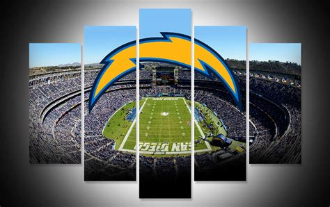 San Diego Chargers Wall Art Canvas Prints