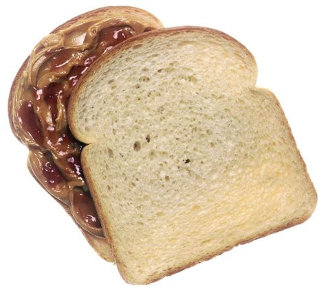 file peanut butter and jelly sandwich top slice of bread