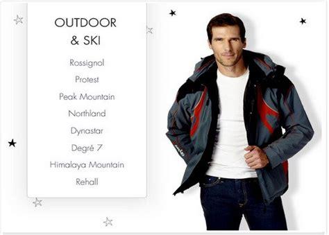 si e social vente priv vente privée outdoor et ski mode pour homme