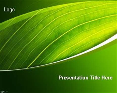 nature templates  powerpoint