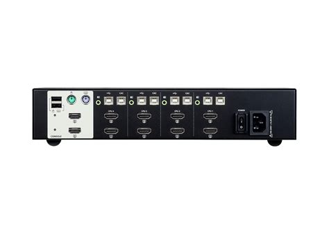 Hdmi 4 Switch by 4 Usb Hdmi Dual Display Secure Kvm Switch Aten