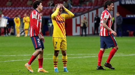 Atletico Madrid vs. Barcelona score: Simeone beats ...