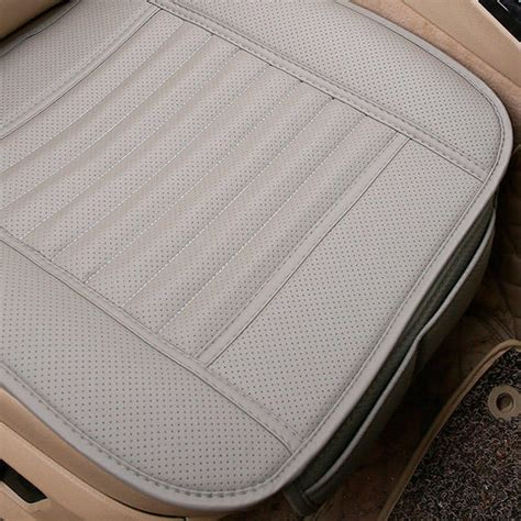 housse de chaise babou housse de siège auto bambou pu ecologique coussin chaise 49cm