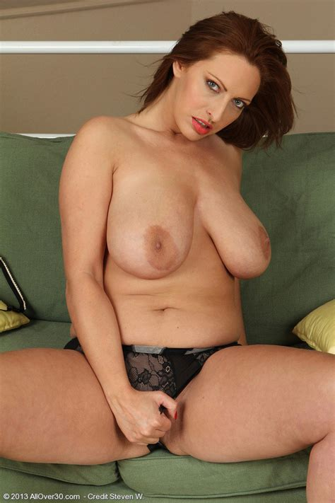 Hot Blonde And Busty Salinas In Tight Black Lingerie Posing All Sexy Pichunter