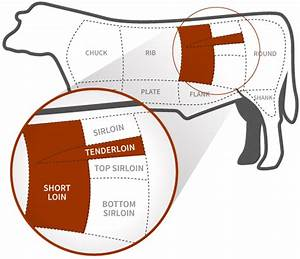 28 Steak Cut Diagram