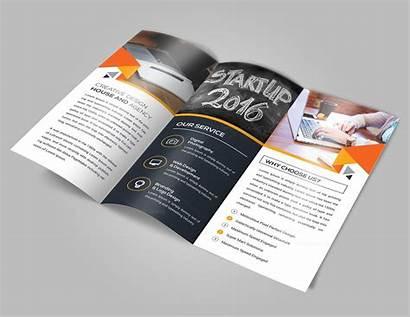 Brochure Idea Fold Tri Template Brochures