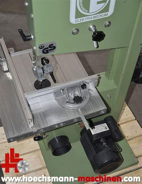 elektra beckum bands 228 ge 315 4 wn55 gebraucht hoechsmann maschinen holzbearbeitungsmaschinen