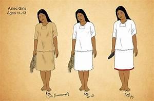 Maya Aztec And Inca Civilizations Chart Aztec Postclassic Girls By Kamazotz On Deviantart Aztec