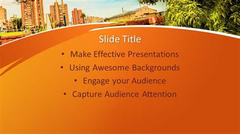 Free Urban PowerPoint Template - Free PowerPoint Templates