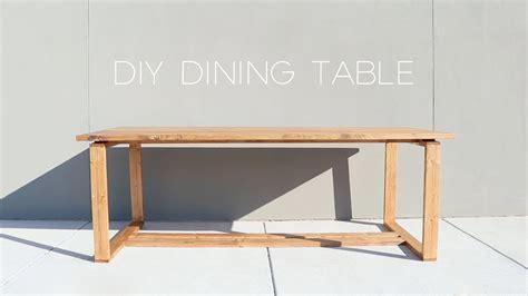 Modern Splittop Dining Table  Diy  Modern Builds Youtube