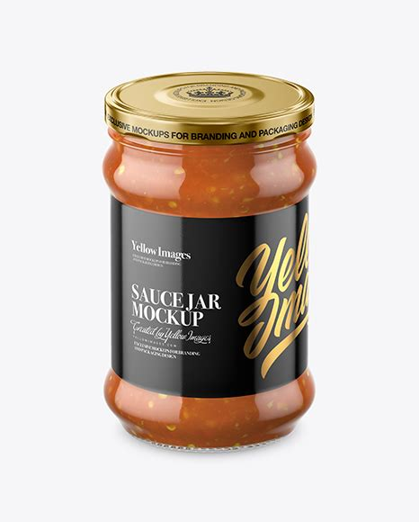 They are packaging items available in different forms, style or type; Clear Glass Sweet & Sour Sauce Jar Mockup in Jar Mockups ...