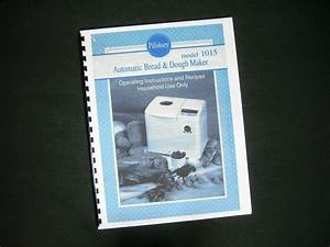 Bread Machine White Westinghouse Manual