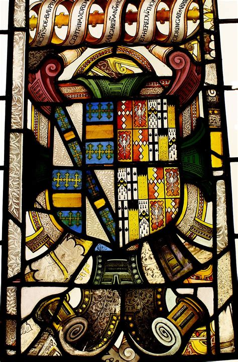 stained glass coat  arms victoria  albert museum