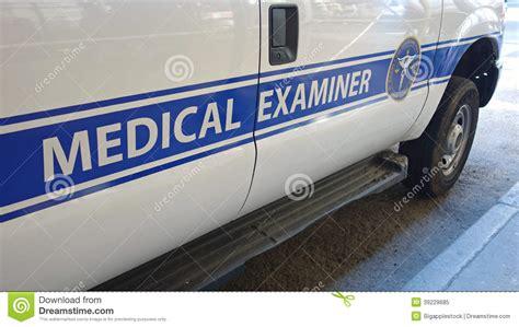 medical examiner van editorial image image