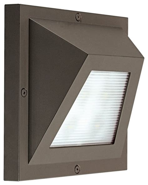 edge led bronze 6 quot high ada outdoor wall light