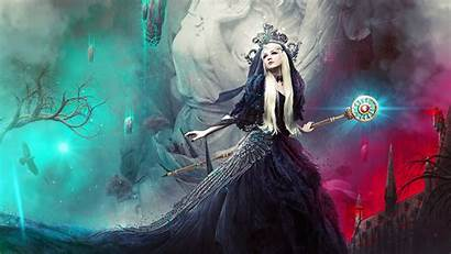 4k Angel Dark Magical Gothic Witch Wallpapers