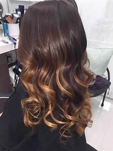 Balayage Cheveux Frisés : balayage miel pour r chauffer les cheveux inspirez vous ~ Farleysfitness.com Idées de Décoration