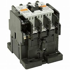120 Vac 50 Amp 3 Pole Contactor Sc 3nc0t0122