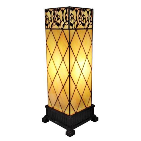 amora lighting 23 in tiffany style mission table l