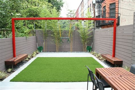 small backyard with play area 38 decoration