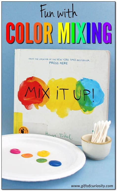 color science with color mixing color theme kindergarten colors