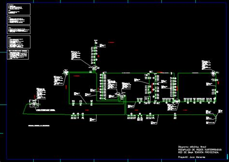 voltage network dwg block  autocad designs cad
