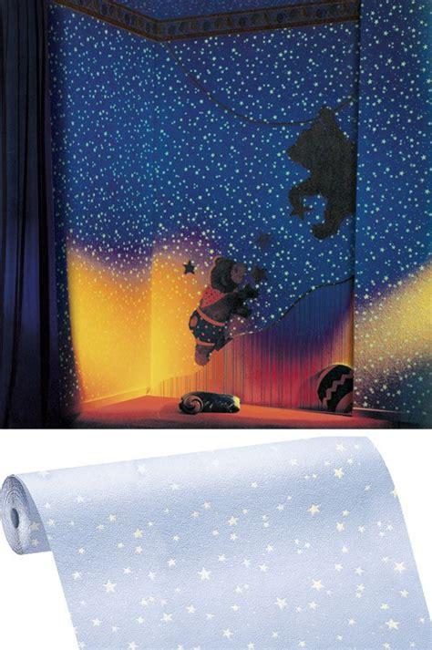 Tapete Leuchtende Sterne by Schaumtapete 77308 Kunterbunt Leuchtende Sterne Wei 223 In